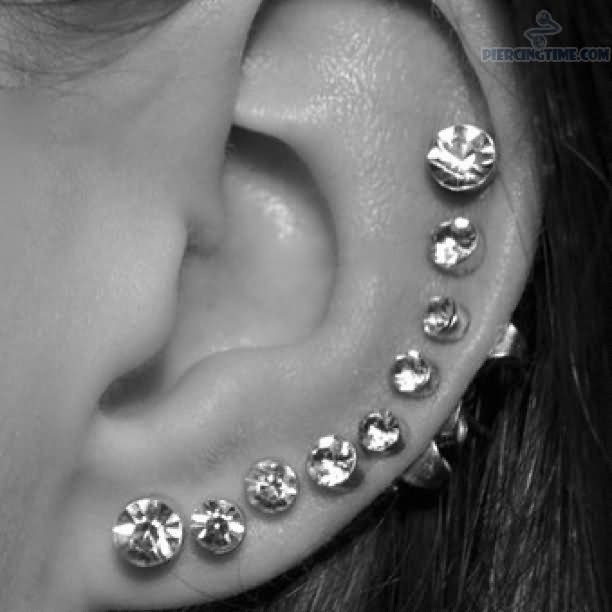 Ear-Piercing Chart | 612 X 612 Ear Piercing Pictures And Images Page 115