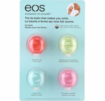 Win a eos Lip Balm 4-Pack