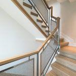 Metal stair railings staircase scandinavian with metal stair railing metal screen railing