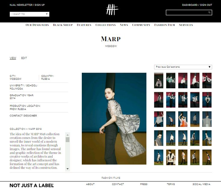 MARP SS18 on NOT JUST A LABEL