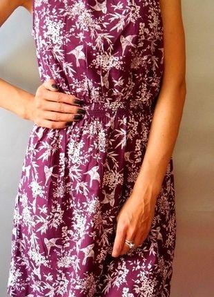 Kup mój przedmiot na #vintedpl http://www.vinted.pl/damska-odziez/krotkie-sukienki/10279770-sukienka-new-look-fioletowa-w-biale-jaskolki