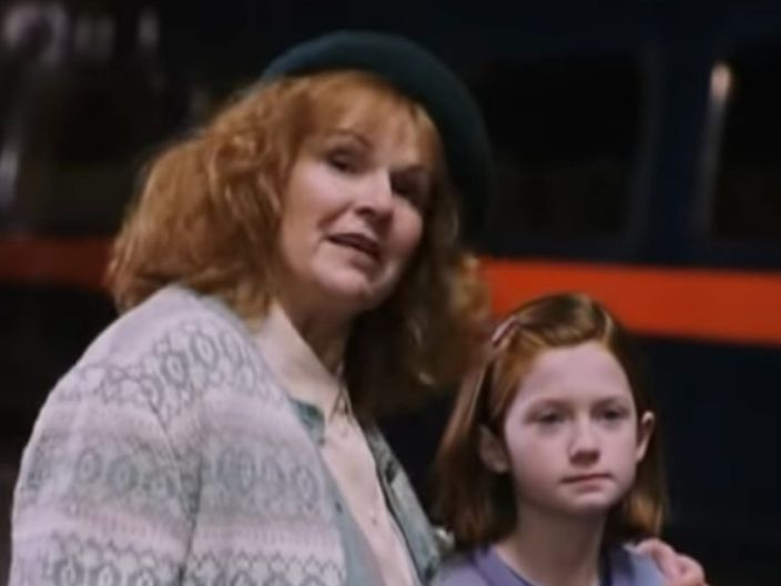 Fellow Moms Who Can Babysit My Kids Mrs Weasley Julie Walters Harry Potter Family Tree Harry Potter Characters Harry Potter Mom