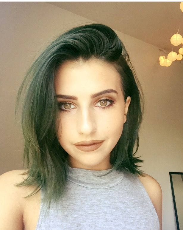 Here is an example of Green Envy over hair thats a little darker than blonde…