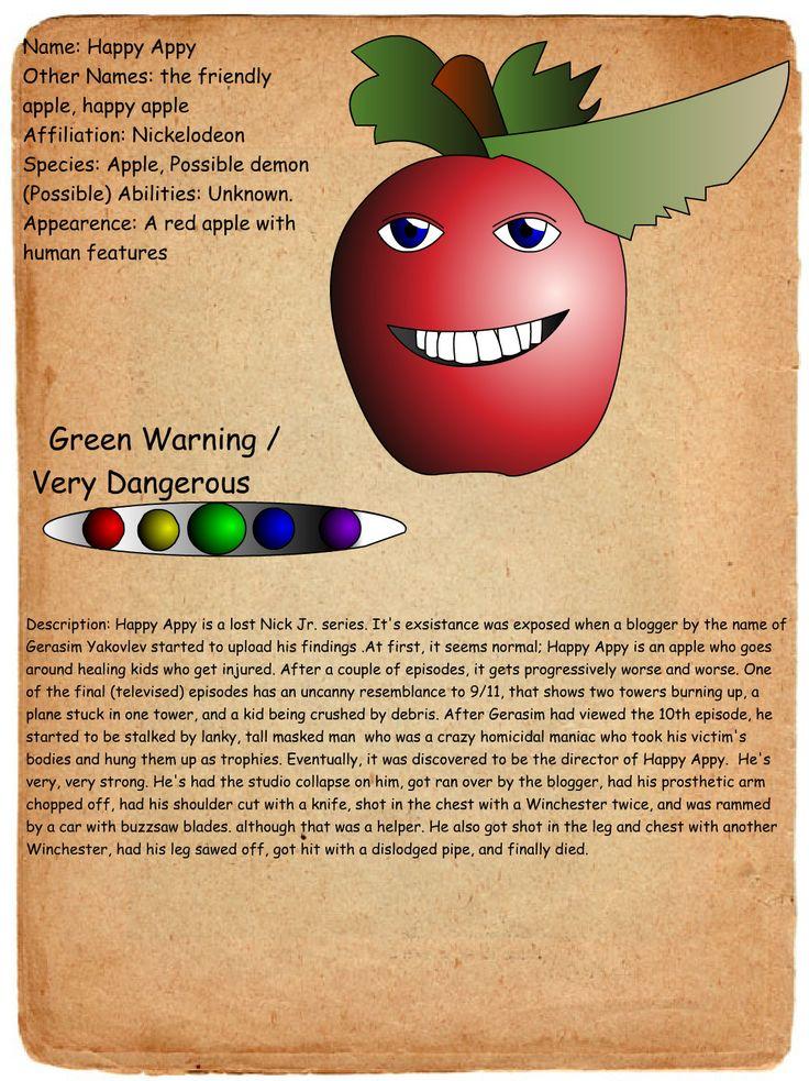Pasta Profiles - Creepypasta Wiki
