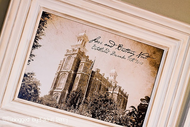 diy temple temple gift temple frame berry blog diy wedding gifts ...