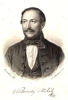 Mihály Vörösmarty - Hungarian poet and dramatist