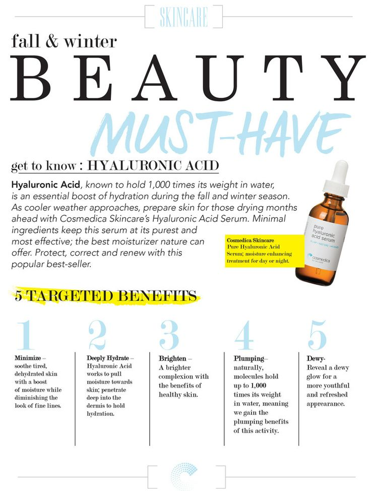 Hyaluronic Acid Serum - 100% Pure - 2oz-Cosmedica Skincare - Cosmedica Skincare  - 3
