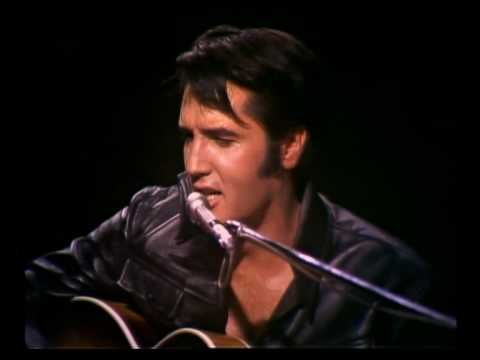 Elvis Presley - Baby What You Want Me To Do 1968 is there any one like this man...i think not....love you elvis
