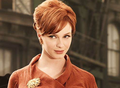 Mad Men Hairstyle: Joan Harris Up-do