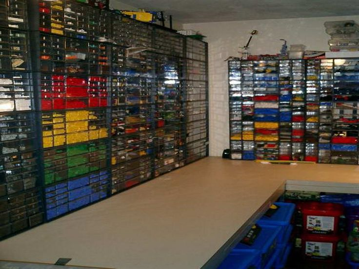 Lego Storage Solutions With Great Size Lego Pinterest