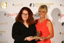 Happy Valley - Best European Drama TV Series & Sarah Lancashire Outstanding Actress in a Drama TV Series - Mrs Sally Wainwright (Executive Producer, Writer, Director) & Lisa Farand (Police Consultant) - UK