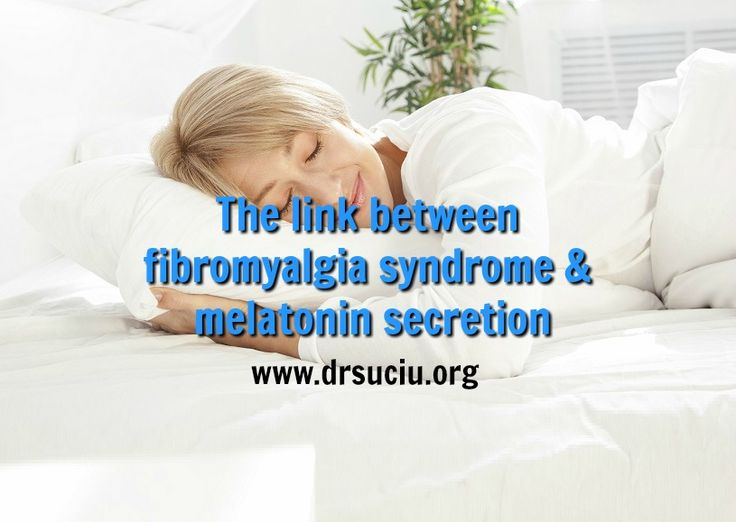 Picture drsuciu Fibromyalgia syndrome & melatonin secretion