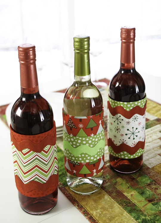 1000 images about wine bottle gift covers on pinterest for Diy wine bottle gifts