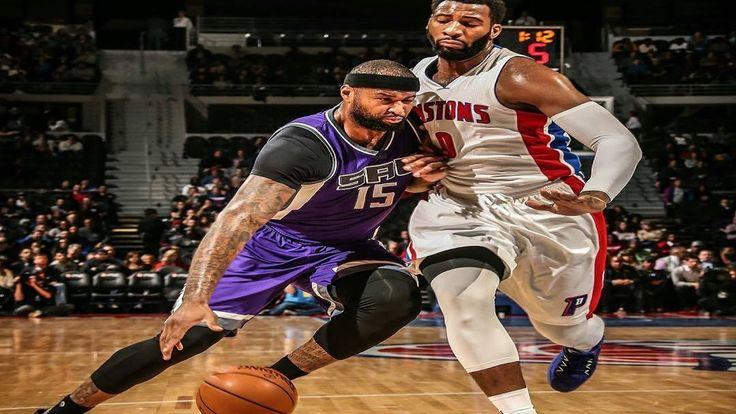 Sacramento Kings vs Detroit Pistons Full Game 23 01 2017