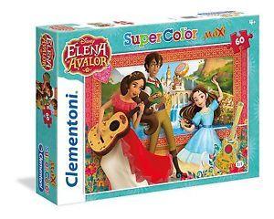 a clementoni 264179 elena de avalor maxi puzzle 60 piezas
