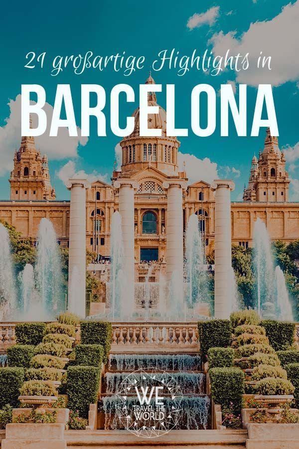 Barcelona Highlights: 21 großartige Dinge, die du in Barcelona gesehen und gemacht haben solltest