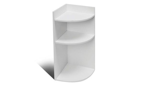 3 Tier Corner Curved Shelf Organizer Shelving Unit Storage Shelf Storage Shelves Shelves Shelf Organization