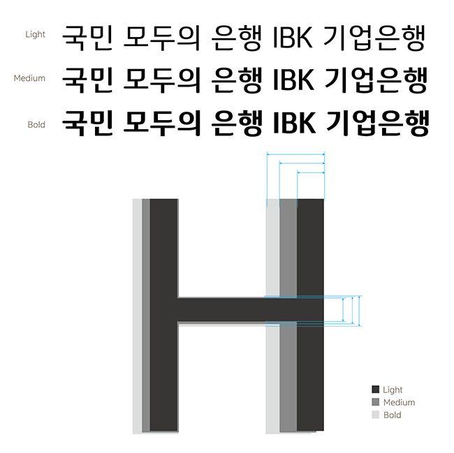 윤디자인 블로그 :: '희망금융'에 날개를 달다, IBK 기업은행 전용서체 아이드림(iDream) 이야기