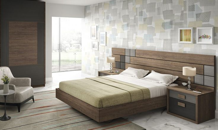 Dormitorio moderno (168 – D1) - Muebles CASANOVA