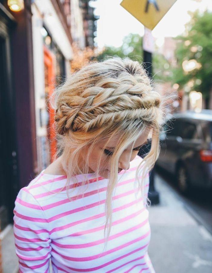 Crown braids.. Love!