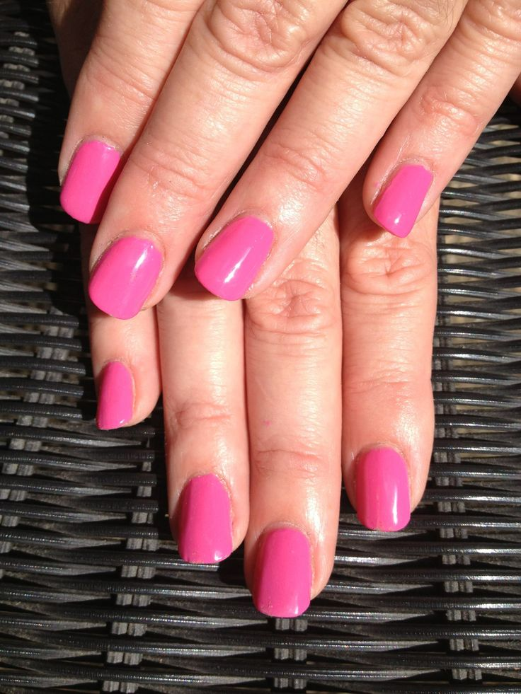 Pretty in Pink. Nails by Wiccid