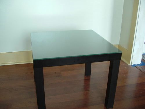 Glass Top Replacement For Small Square Table