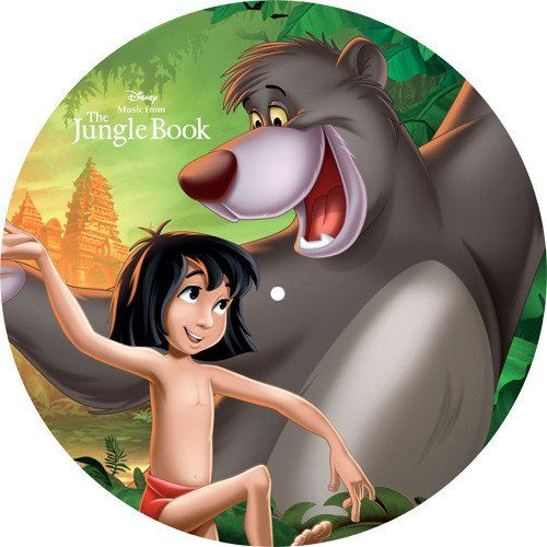 Songs From: The Jungle Book Soundtrack on Limited Edition LP Picture Disc