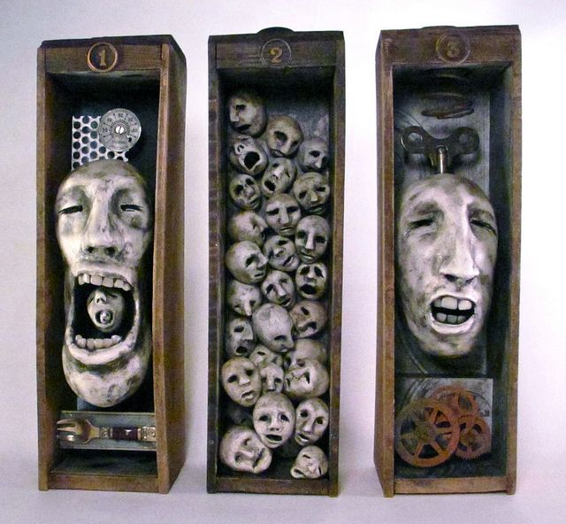 """Human Plague"" is an #assemblage by Susarto..."