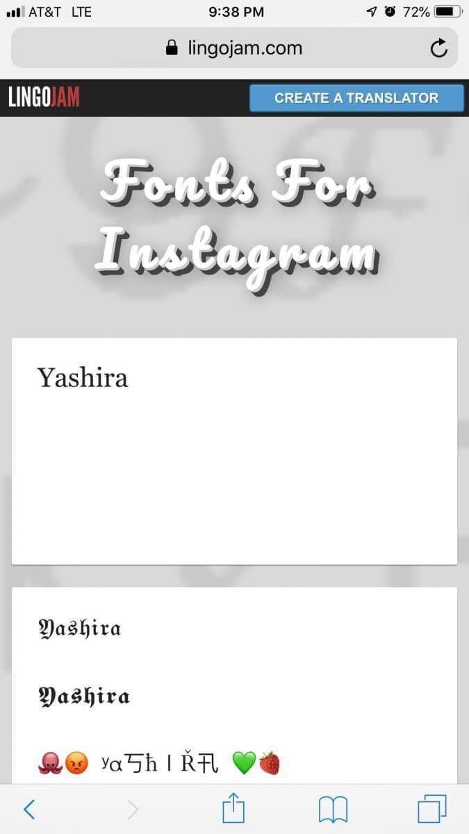 Cambia La Letra De Tu Bio En Instagram Con 3 Simples Pasos Empresarias únicas Bio De Instagram Nombre Para Instagram Conversor De Letras
