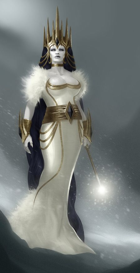 Jadis The White Witch by QuinnSimoes on DeviantArt
