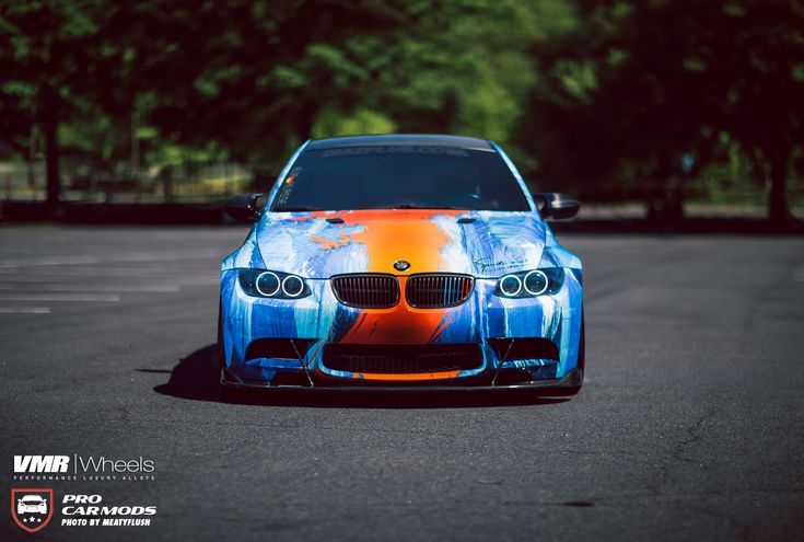#BMW #E92 #M3 #Coupe #Rainbow #VMRWheels #Tuning #Provocative #Sexy #Hot #Strong #Fast #Eyes #Live #Love #Life #Follow #Your #Heart #BMWLife