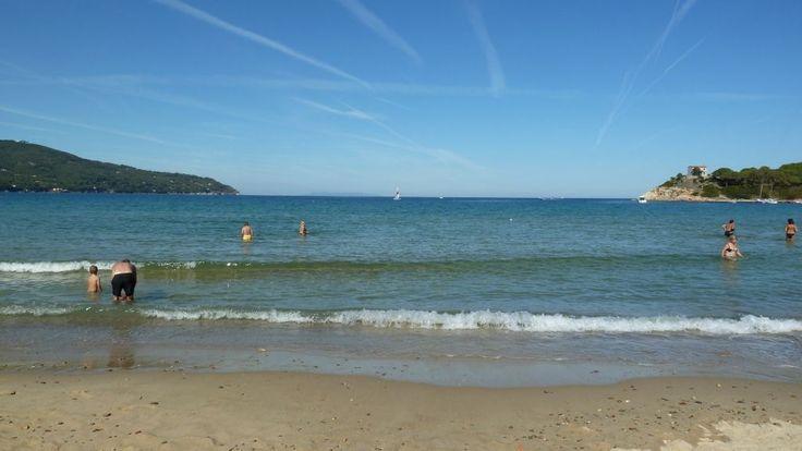 Spiaggia di Procchio il 1 ottobre