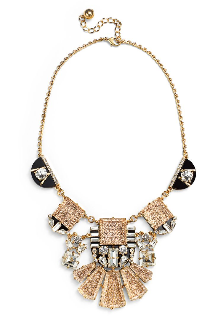 Imperial Tile Statement Necklace by kate spade new york accessories #renttherunway