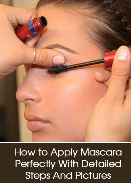 How to Apply Mascara Perfectly – With Detailed Steps And Pictures