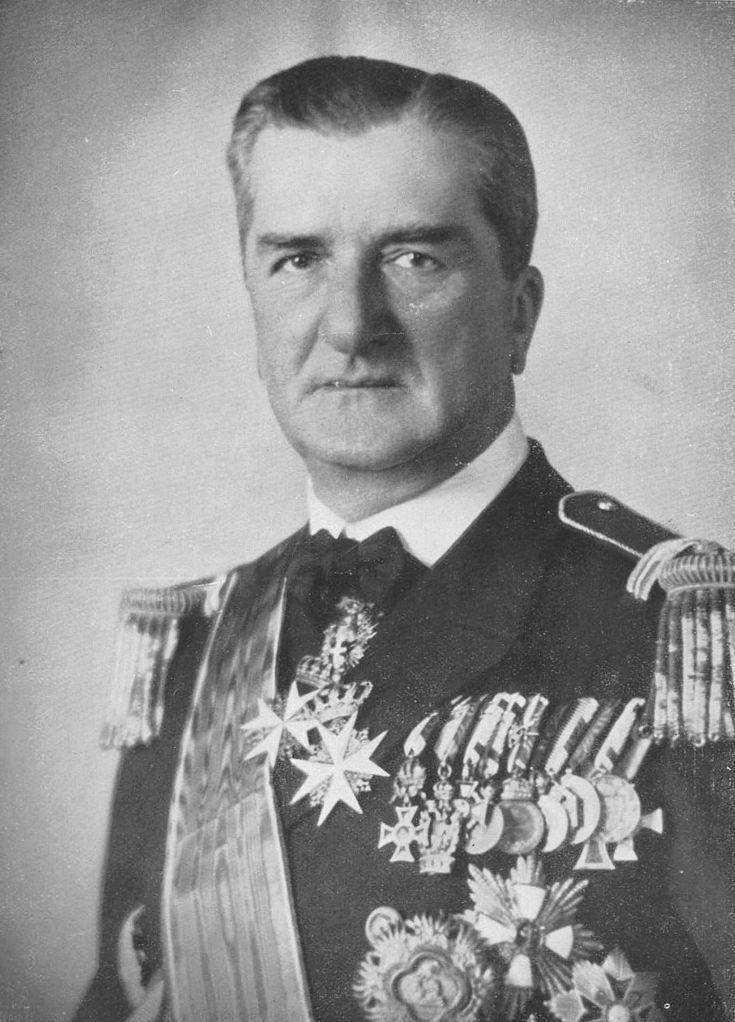 Vitéz nagybányai Horthy Miklós (Kenderes, 1868. június 18. – Estoril, Portugália, 1957. február 9.)
