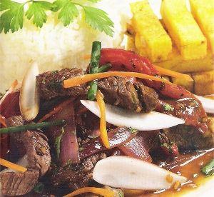 Cocina Peruana: Lomo saltado