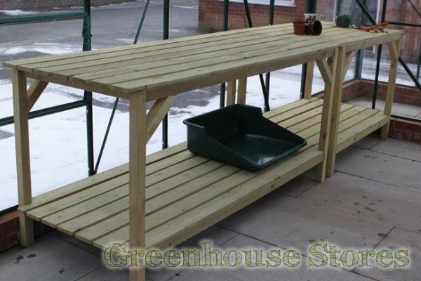Elite Heavy Duty Wooden Greenhouse Staging - 6ft Long  http://www.greenhousestores.co.uk/Elite-Heavy-Duty-Wooden-Staging-6ft-Long.htm