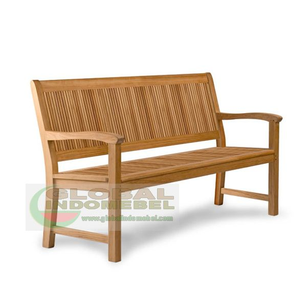 GLB - 301 Carbello Bench - teak garden furniture bench and teak outdoor furniture manufacture by indonesiafurniture wholesale