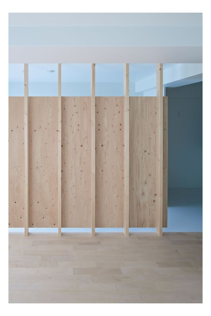 Simple method to partition space that still lets light through. Exposed structural system speaks to architectural practice. Materials used in raw state.