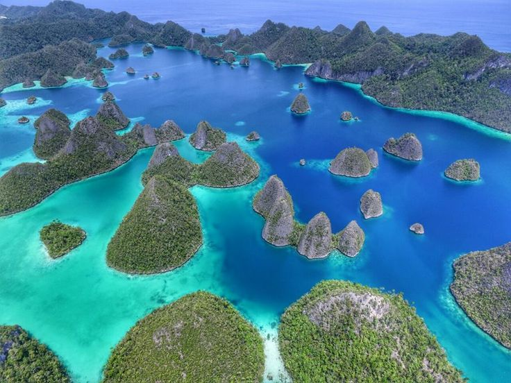 Wayag is the Icon of Raja Ampat.  Jadi, jika Sobat Jalan ingin mengunjungi Raja Ampat, kamu harus mengunjungi tempat indah ini. Saat berada disini, kamu akan terhipnotis oleh lautan yang berwarna biru kehijauan, terumbu karang dan ikan-ikan yang terlihat jelas di bawah air, serta pemandangan menakjubkan dengan perpaduan lautan yang cantik dan pulau-pulau kecil yang menarik.  Photo by @susantoatm  Location : Wayag Islands, Raja Ampat, West Papua   #RajaAmpat #wayag #pesonaindonesia