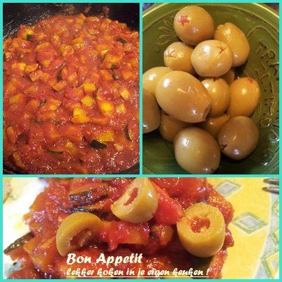 lekker koken in je eigen keuken ! Caponata, een heerlijke Siciliaanse groenteschotel. Voor het volledig recept kijk op www.bonappetit-someren.nl