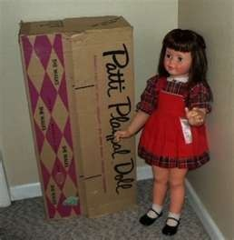 Love original vintage Patti Playpal dolls from the 1960s. Mine was blond! Hold her hand & she's walk along with you. Really!