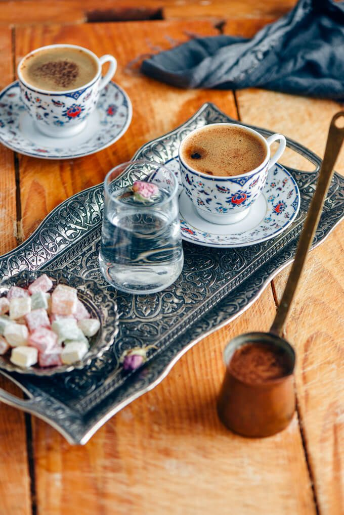 How to Make Turkish Coffee (With Tips) - Give Recipe   Recipe   Turkish  coffee, Coffee, Turkish coffee cups