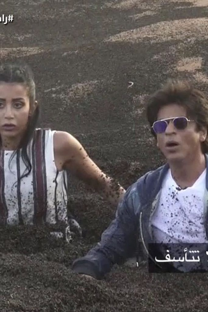 OMG !!! Prank on Shah Rukh Khan will go wrong Shah Rukh Khan had recently travelled to the location of sand dunes to shoot for a sequel to Dubai Tourism's promo video. While there, Ruler Khan was invited to a TV show called Ramez Underground, an invitation he graciously accepted. However, the show's considered to be a prank show, and the variety decided to try and pull a fast one on Shah Rukh. The professional would probably not have imagined he'd ever get drawn into one of the stunts, given…