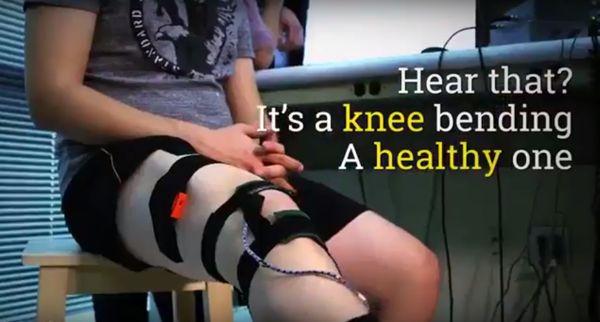 Urządzenie, które pokaże, co dzieje się w kolanie