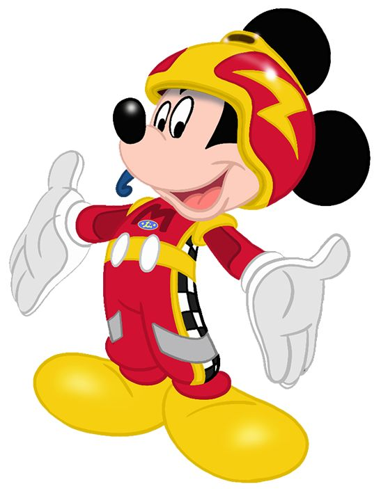 Image result for mickey and the roadster racers car clipart