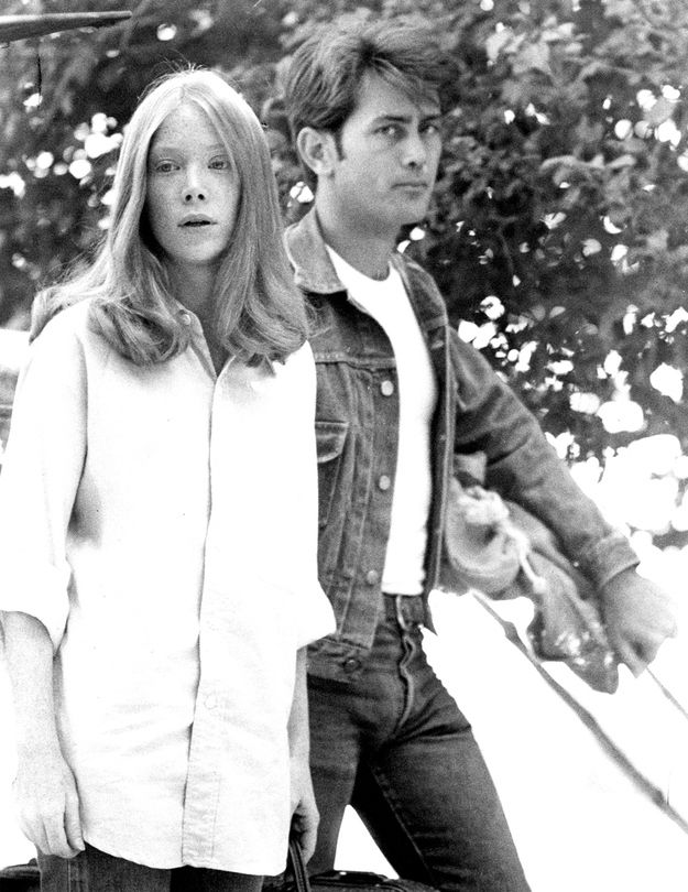 Sissy Spacek and Martin Sheen in Badlands, by Terence Malik
