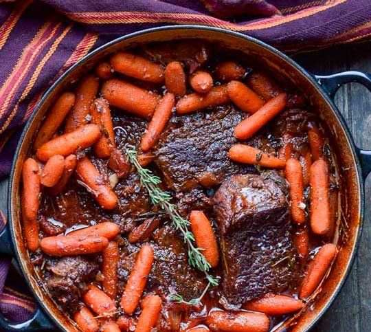 At a recent dinner party, a friend asked me whether it was really necessary to sear meat before cooking it, especially if it was just getting slow-cooked in a braise or a stew anyway. My friend logically pointed out that if it wasn't an important step, then why go to the extra trouble or dirty more dishes?