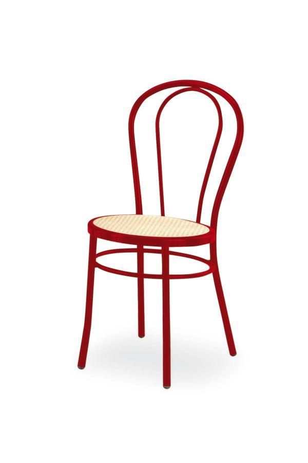 Sedia Vienna Rosso Tipo Thonet | Tavolisedie.com | Sedie ...