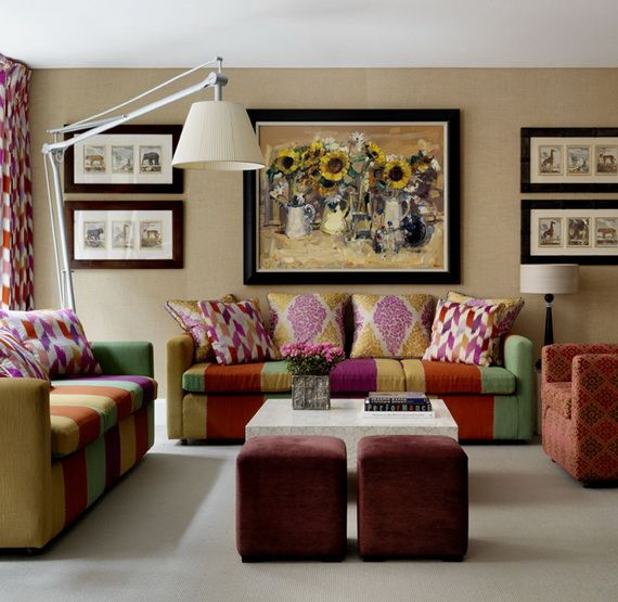 unexpected pattern pairings unusual proportions eclectic accents londons soho hotel features a fresh contemporary style thats sure to leave you - Eclectic Hotel 2015